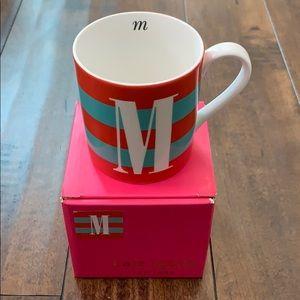 Kate Spade Lenox M mug